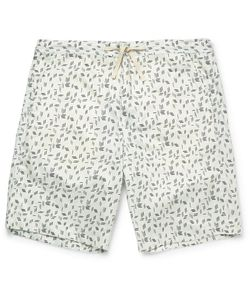 Oliver Spencer Loungewear | Printed Stretch-Cotton Pyjama Shorts