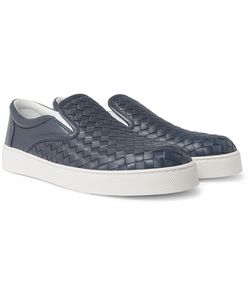 Bottega Veneta | Dodger Intrecciato Leather Slip-On Sneakers