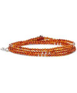 Isaia   Hematite Wrap Bracelet