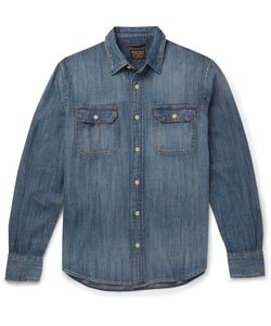JEAN SHOP | Distressed Denim Shirt