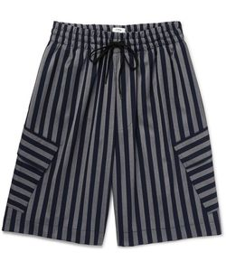 CMMN SWDN | Cody Striped Woven Shorts