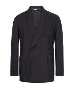Camoshita | Slim-Fit Double-Breasted Wool-Blend Blazer
