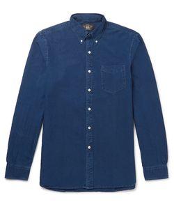 RRL | Slim-Fit Button-Down Collar Denim Shirt
