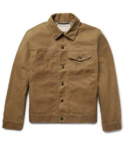 Filson | Short Lined Cruiser Water-Repellent Cotton Tin Cloth Jacket