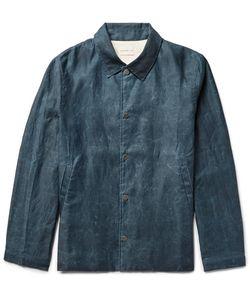 SIMON MILLER | Distressed Cotton Coach Jacket