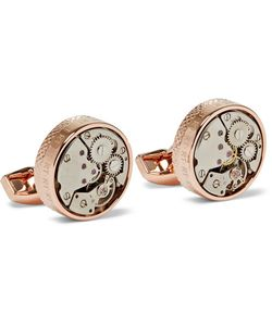 Tateossian | Skeleton Plated Cufflinks