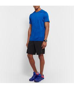 Adidas Sport | Supernova Sequence 9 Rubber-Trimmed Mesh Sneakers Cobalt