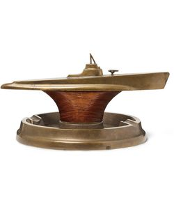Foundwell Vintage | 1940s And Wood Submarine Ashtray
