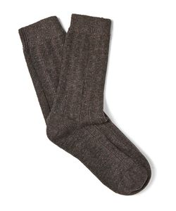 NN07 | Six-Pack Mélange Wool-Blend Socks