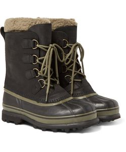 Sorel | Caribou Wl Wool-Lined Waterproof Leather Snow Boots