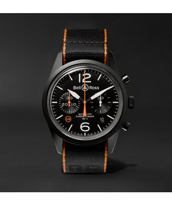 Bell & Ross | Br 126 41mm Steel And Nato Canvas