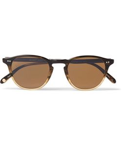 Garrett Leight California Optical | Hampton 46 Round-Frame Acetate Sunglasses