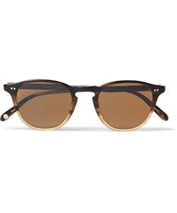 Garrett Leight California Optical | Hampton 46 Round-Frame Acetate Sunglasses