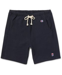Beams | Champion Loopback Cotton-Blend Jersey Drawstring Shorts