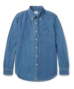 Orslow | Button-Down Collar Denim Shirt