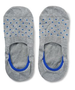 PANTHERELLA | Polka-Dot Stretch-Egyptian Cotton No-Show Socks