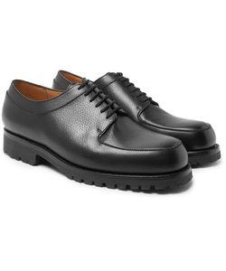 J.M. Weston | Plateau Full-Grain Leather Derby Shoes