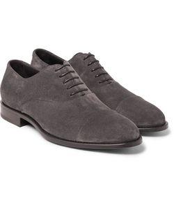 HUGO BOSS | Stockholm Suede Oxford Shoes