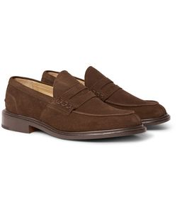 Tricker'S | James Suede Penny Loafers