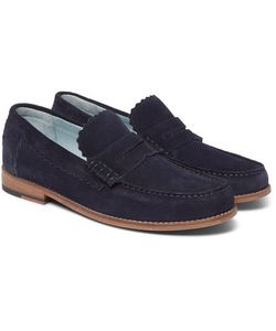 Grenson | Ashley Suede Penny Loafers