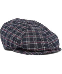 Lock & Co Hatters | Checked Cotton Flat Cap