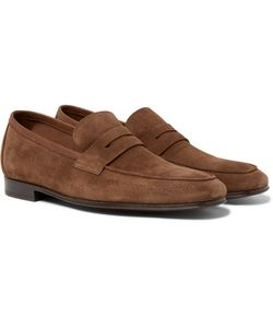 Paul Smith | Glynn Suede Penny Loafers