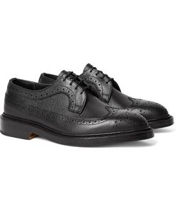 Tricker'S | Richard Pebble-Grain Leather Longwing Brogues