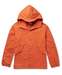 Albam | Washed-Cotton Hooded Parka