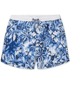 HUGO BOSS | Mid-Length Printed Swim Shorts