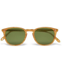 Garrett Leight California Optical | Kinney D-Frame Acetate Sunglasses