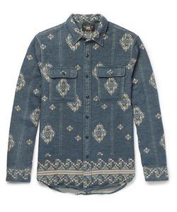 RRL | Matlock Brushed-Cotton Jacquard Shirt