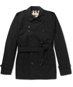 Burberry | Kensington Short-Length Cotton Trench Coat