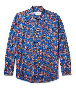 Our Legacy | Slim-Fit Print Matte-Satin Shirt