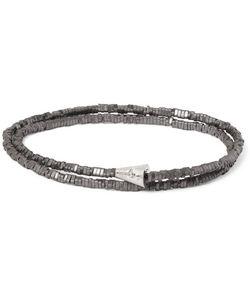 LUIS MORAIS | Hematite Wrap Bracelet