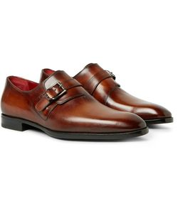BERLUTI | Polished-Leather Monk-Strap Shoes
