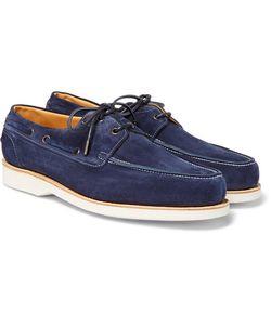 JOHN LOBB | Isle Suede Boat Shoes