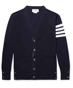 Thom Browne | Striped Wool Cardigan