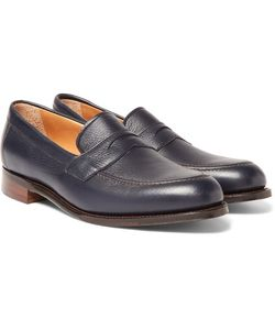 CHEANEY | Hadley Full-Grain Leather Penny Loafers