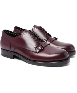 Bottega Veneta | Buckle-Detailed Leather Derby Shoes