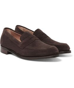 CHEANEY | Hadley Suede Penny Loafers