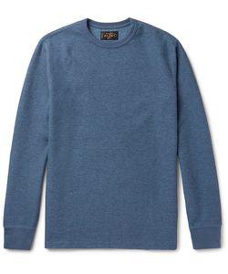 Beams Plus | Waffle-Knit Cotton Sweatshirt