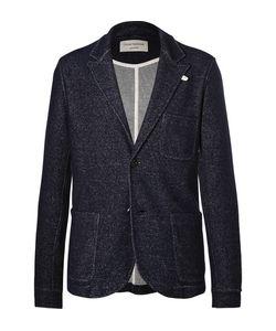 Oliver Spencer Loungewear | Mélange Wool And Cotton-Blend Blazer