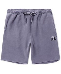 CAV EMPT | Overdyed Cotton-Jersey Drawstring Shorts