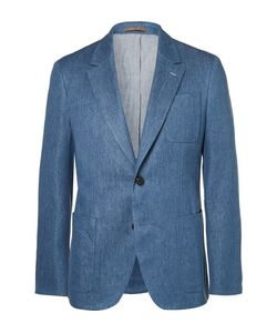 BERLUTI   Stretch Cotton And Linen-Blend Suit Jacket