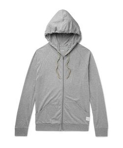 Paul Smith | Mélange Cotton-Jersey Zip-Up Hoodie