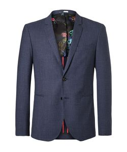 PS PAUL SMITH | Buggy Slim-Fit Checked Wool Blazer
