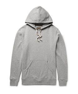 Beams Plus | Mélange Loopback Cotton-Jersey Hoodie