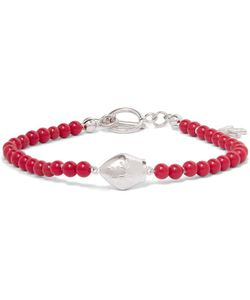 Isaia   San Gennarotone Beaded Bracelet