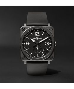 Bell & Ross | Br S 39mm Ceramic And Rubber Watch