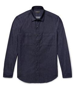 BERLUTI   Slim-Fit Denim Overshirt